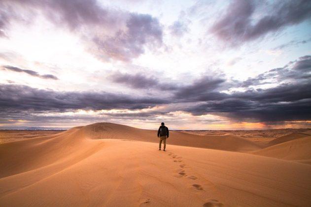 砂 砂漠 夢占い
