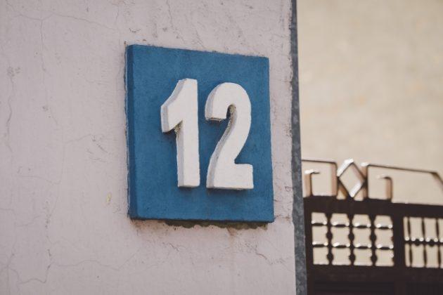 夢占い 数字の12